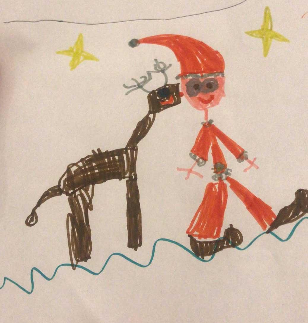 151.--Babbo-Natale-e-Rudolph_Lorenzo