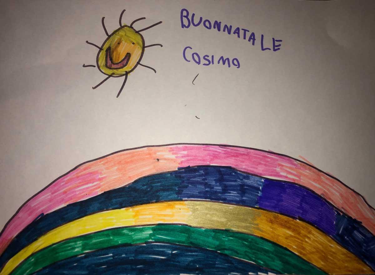 165. L'arcobaleno a Natale_Cosimo