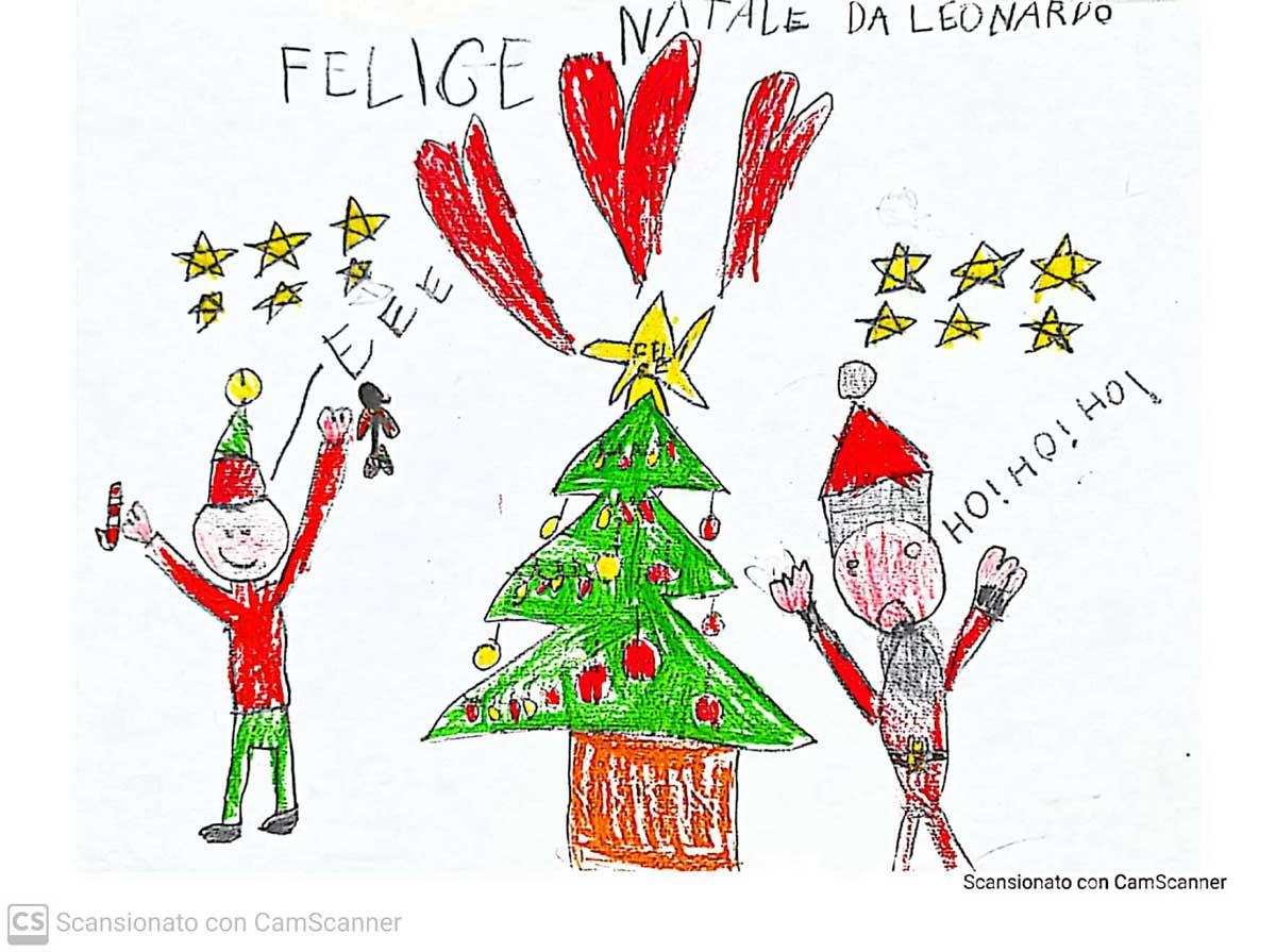 38.-Il-disegno-di-Babbo-Natale_Leonardo